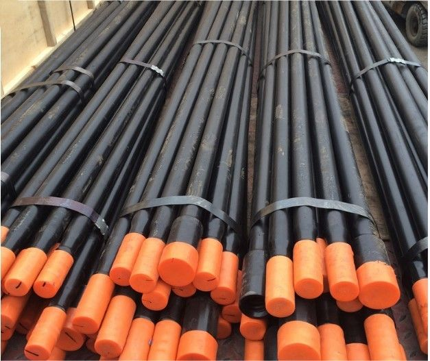 915mm - 4265mm Water Well Drill Rods High Strength Alloy Steel Bar