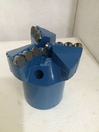 China Soft Formation PDC Drag Bit 75 Mm To 191 Mm Diameter Chevron And Step Type distributor