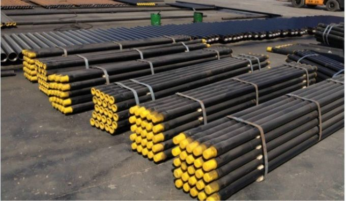"High Quality 76mm API 2 3/8"" Tool Steel Drill Rod Tubes 1000~6000mm Length"